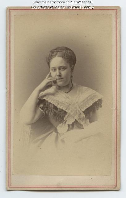 Alida Carroll Brown, Portland, ca. 1870