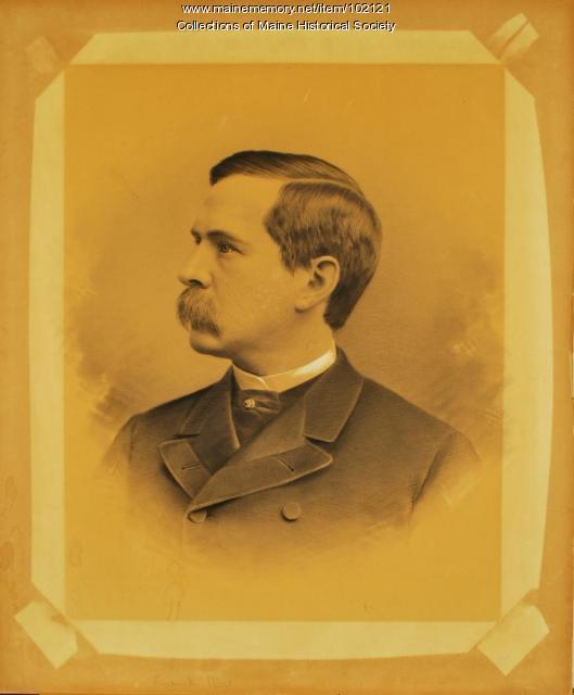 Frederick Dow, Portland, ca. 1890