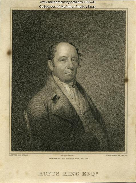 Rufus King, Scarborough, 1815