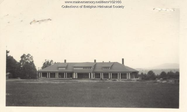 Upper Ridge, (Fox & Perry House), Bridgton, ca. 1938