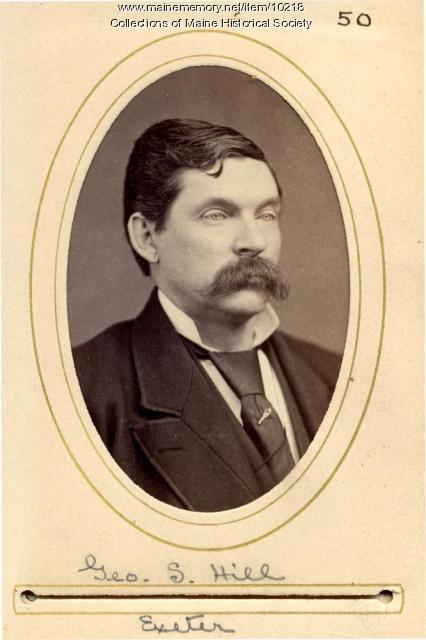 George S. Hill, Exeter, 1880