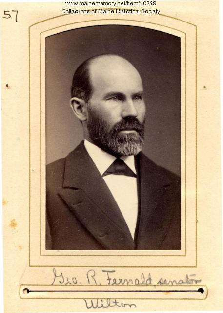 George R. Fernald, Wilton, 1880