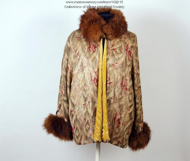 Ida May Lane's jacket, ca. 1925
