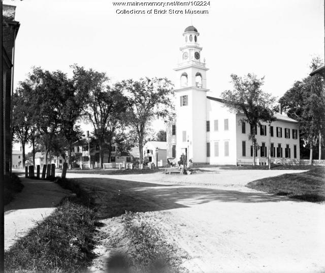 First Parish Unitarian Universalist Church, Kennebunk, ca. 1900