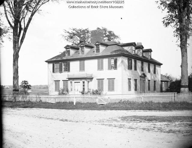 Hugh McCulloch house, Kennebunk, ca. 1900