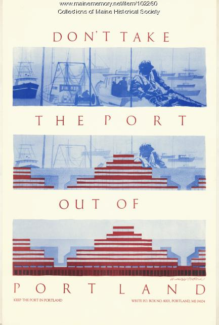Don't take the port out of Portland, 1986