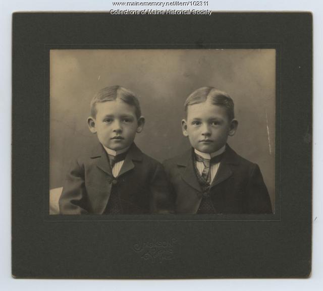 Herbert and Sumner Cobb, ca. 1900