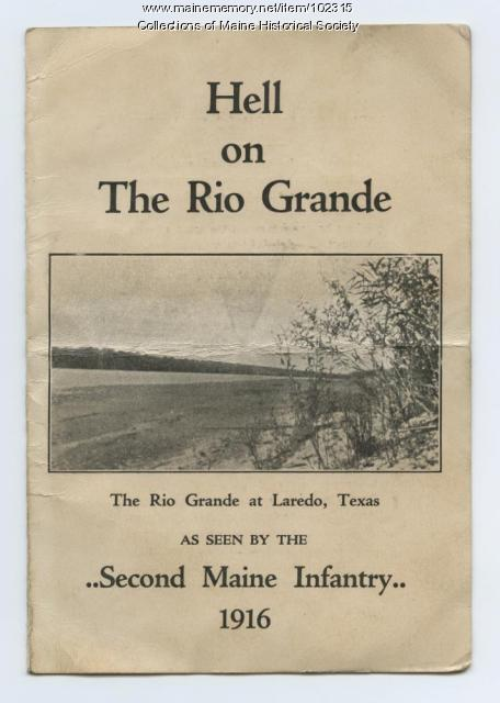 Hell on the Rio Grande poem, Laredo, Texas, 1916