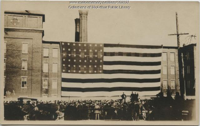 Flag Day celebrated in Biddeford, 1917