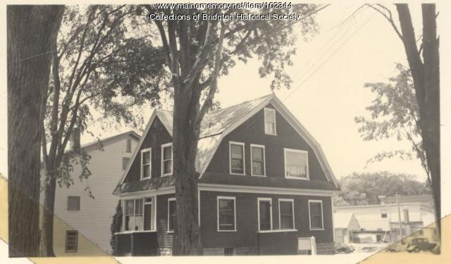 2 Elm Street, Bridgton, ca. 1938