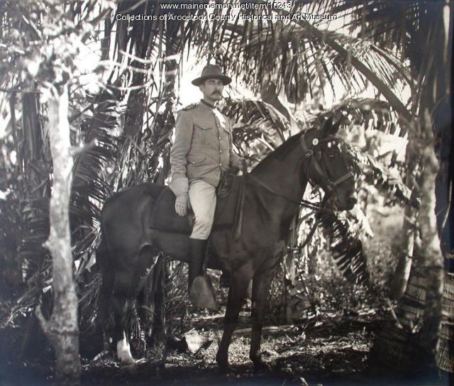 Colonel Frank Hume in Cuba, 1898