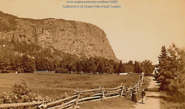 Road to North Bay, Moosehead Lake, 1887
