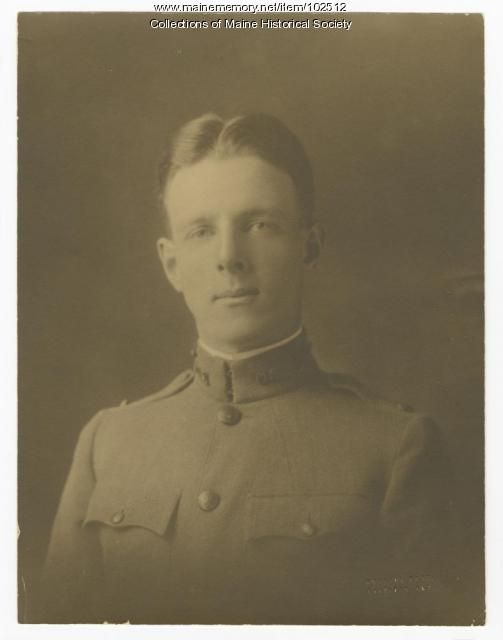 Stephen H. Boomer in World War I army uniform, ca. 1917