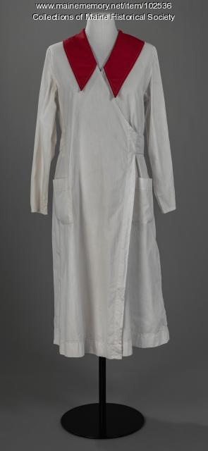 American Red Cross washable uniform , ca. 1917