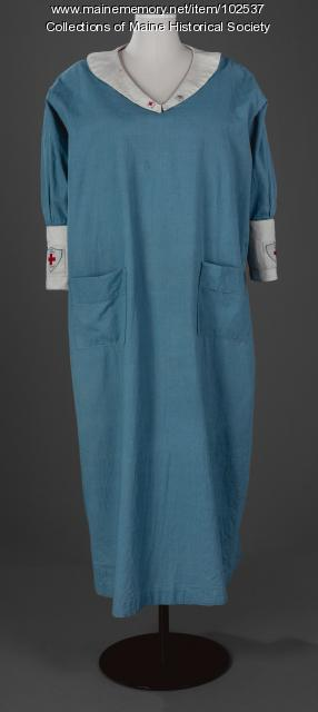 World War I Red Cross Canteen uniform, ca. 1917