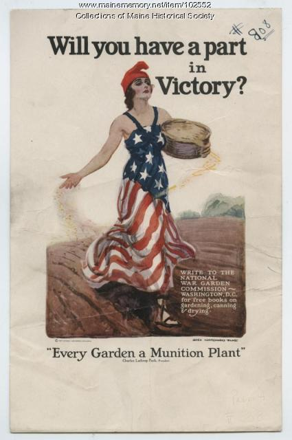 Will You Have a Part in Victory? World War I poster, ca. 1918