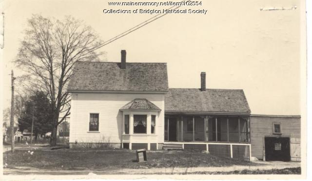 6 Cross Street, Bridgton, ca. 1938