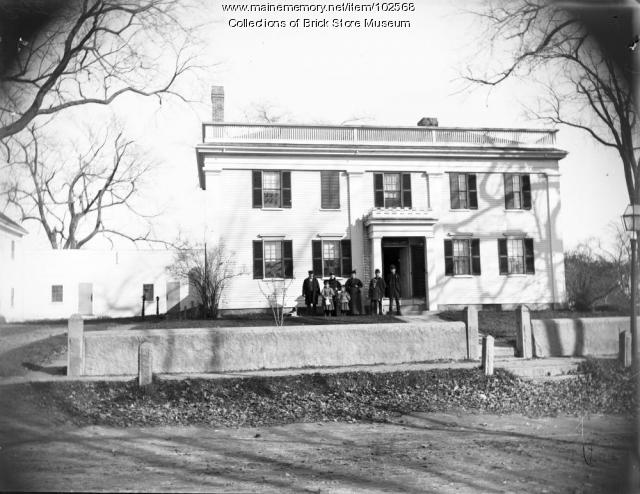 Storer Mansion, Kennebunk, ca.1900
