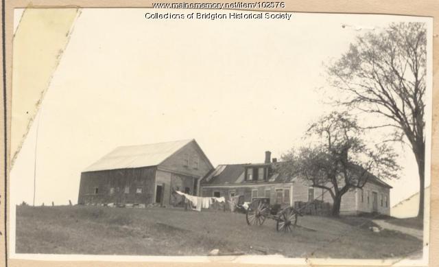 2708 Sam Ingalls Road, Bridgton, ca. 1938