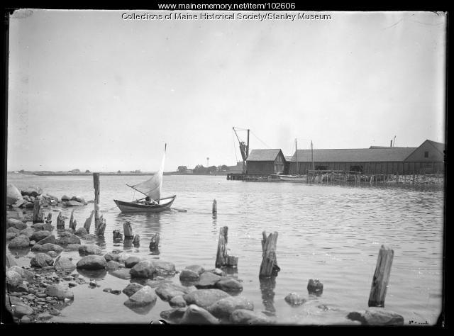 Scituate at high tide, Scituate, Massachusetts, ca.1910