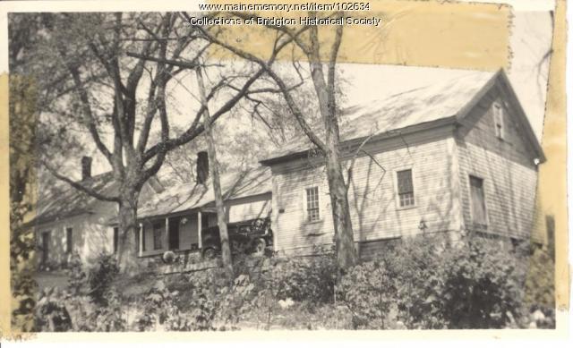 2701 Whitney Road, Bridgton, ca. 1938