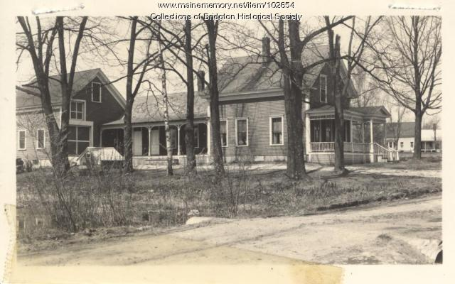 7 Cross Street, Bridgton, ca. 1938