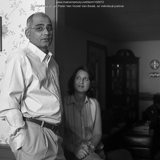 Rifat and Tasneem Zaidi, Damariscotta, 2009