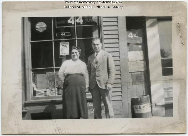 Mary and Popkins Zakarian, Portland, ca. 1925