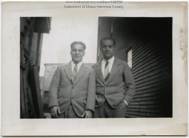 Lavon and Popkins Zakarian, Portland, 1925