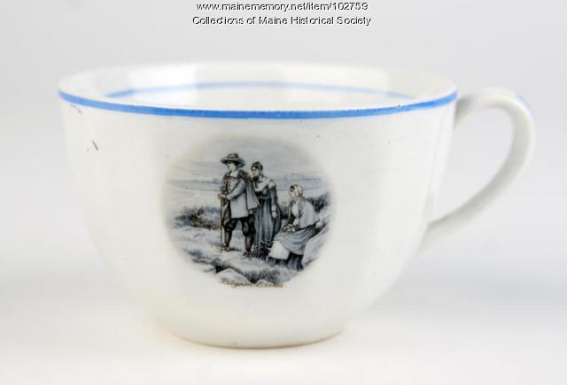 Longfellow tea set cup, ca. 1900