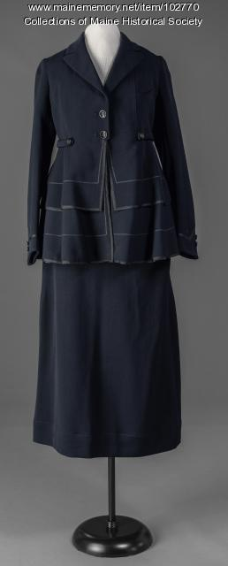Ladies afternoon suit, ca. 1920