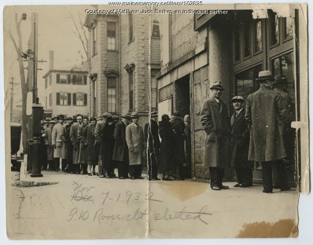 Election Day, Portland, 1932