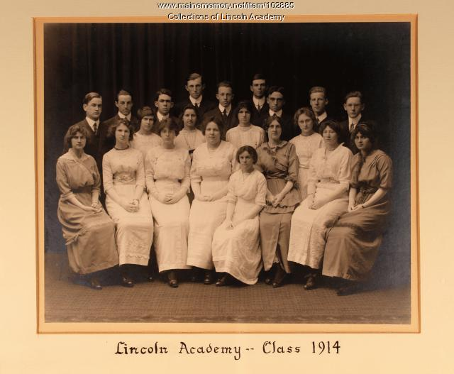 Lincoln Academy Class of 1914, Newcastle