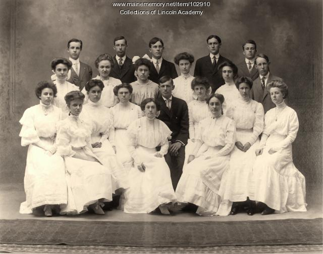 Lincoln Academy Class of 1909, Newcastle