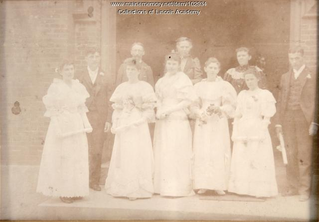 Lincoln Academy Class of 1894, Newcastle
