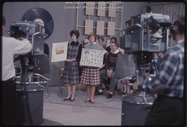 Bicknell Photo Service promotion on the Dave Astor Show, Portland, 1962