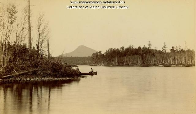 Moosehead Lake Hunting Camp, 1895