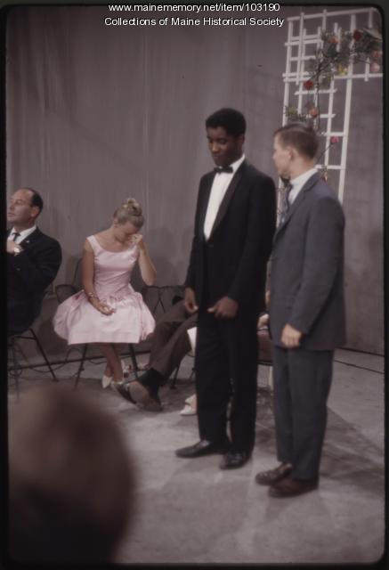 Set outtake on The Dave Astor Show, Portland, ca. 1962