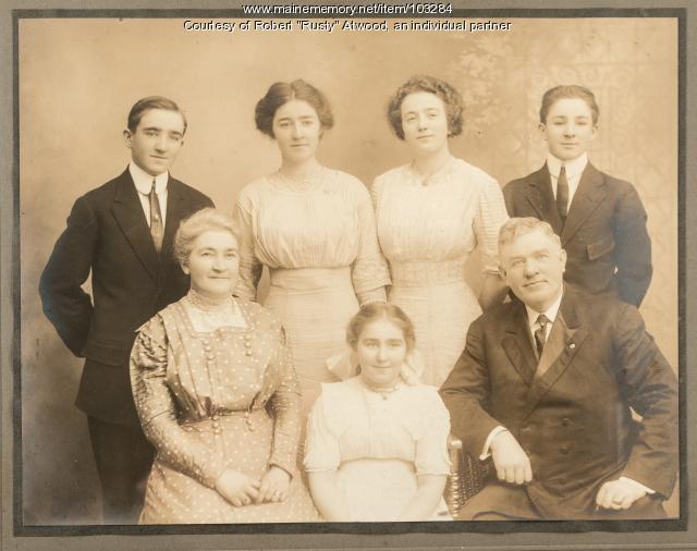 The family of Anthony Edward McDonough, Lewiston, ca. 1910