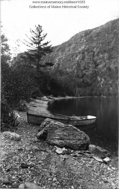 Mt. Kineo and Cliff Beach, North Bay, 1887