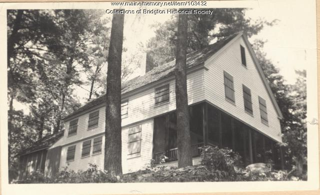 1289 Sweden Road Knoll Point, Bridgton, ca. 1938