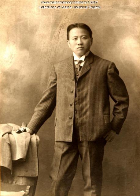 Chinese Sunday School student, Augusta, c. 1890
