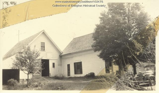20 Church Street, Bridgton, ca. 1938