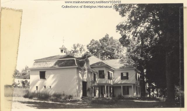 79 South High Street, Bridgton, ca. 1938