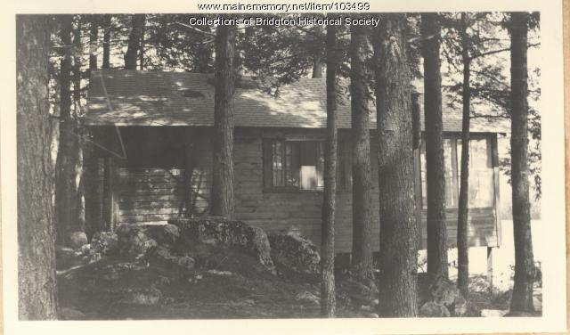 4 Sweden Road camp two, Bridgton, ca. 1938