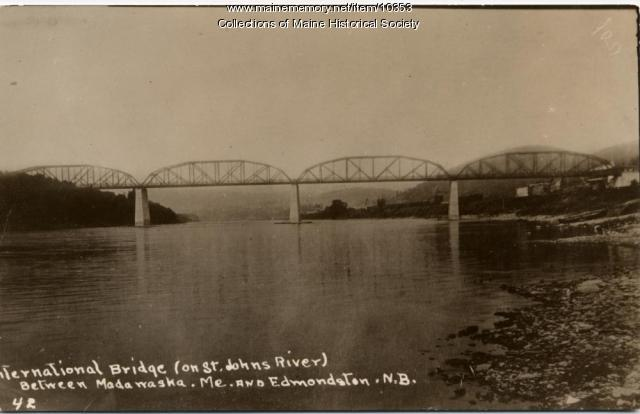 International Bridge, Madawaska, ca. 1925