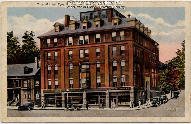 Maine Eye & Ear Infirmary, Portland, ca. 1920