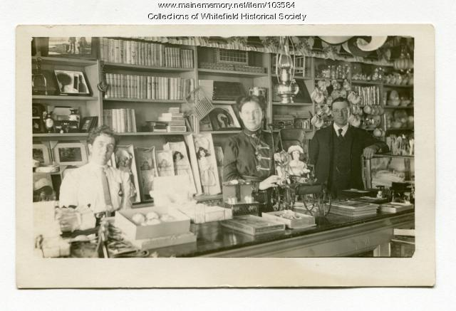 H. T. Weeks & Company store, Whitefield, ca. 1910