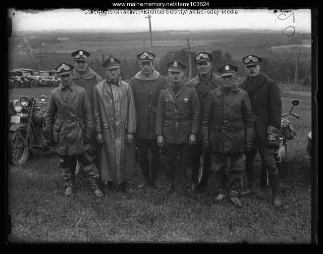 Police assigned to Conference of Governors, South Poland, 1925