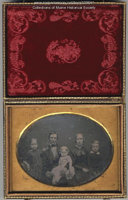 Spofford family, Dedham, ca. 1850